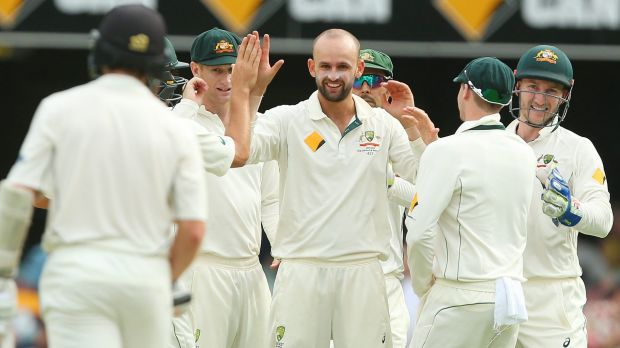 Nathan Lyon: one of two spinners picked in the team.