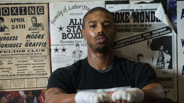 Michael B. Jordan in <i>Creed</i>.