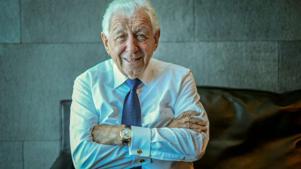 Ready to invest? Frank Lowy is in a position to help the game's bottom line.