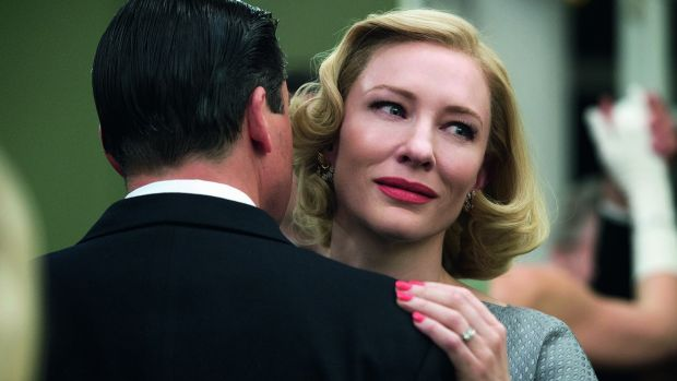 Oscar contender again: Cate Blanchett in the Todd Haynes romance Carol.