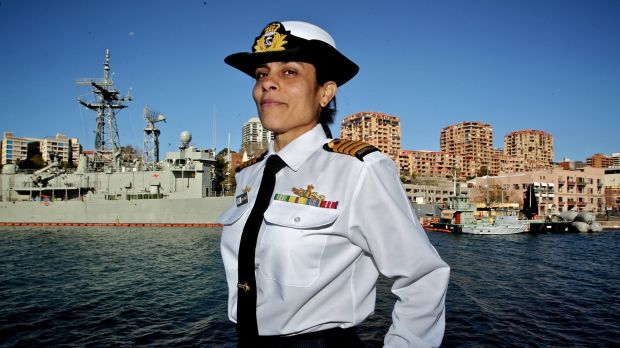 Captain Mona Shindy is the Royal Australian Navy's  strategic adviser on Islamic cultural affairs.