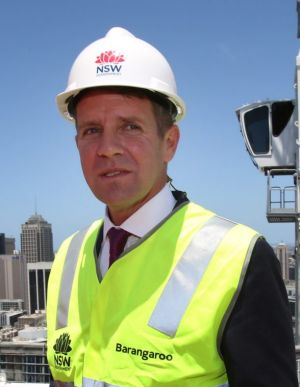 Premier Mike Baird has not said whether he will commit to the target of 200,000 jobs by 2020.