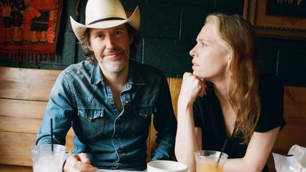 Long wait: Gillian Welch and David Rawlings have returned to Australia after nine years.