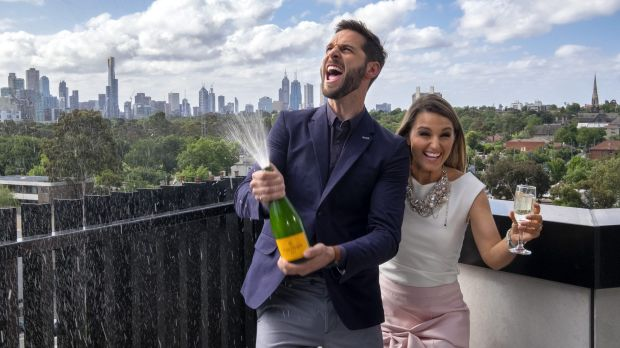 High school sweethearts Dean and Shay have won the latest season of <i>The Block.</i>