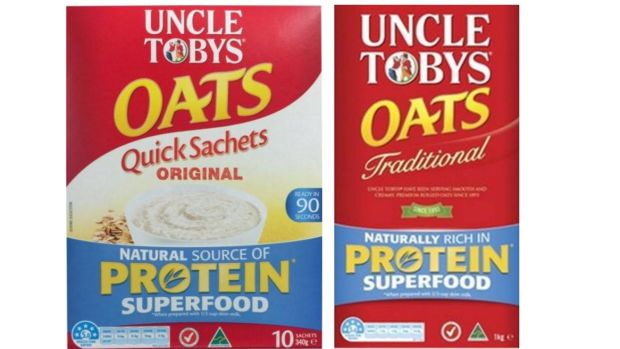 uncle tobys Uncle tobys oats quick sachets are a convenient and tasty oats option for busy families easy to prepare, just add milk (or water) and stir to mix microwave on high for 90 seconds, stir and allow to cool slightly before serving.