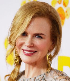 Sponsored acting prizes ... Nicole Kidman.