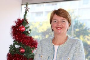 The ABC Giving tree has started accepting gifts for distribution by Marymead.Pictured is Marymead CEO Camilla Rowland