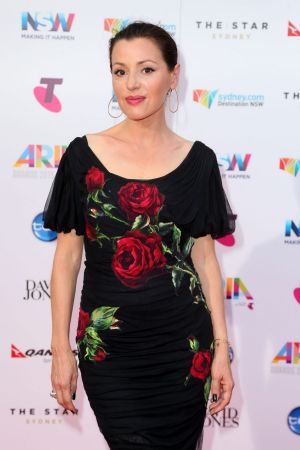 Tina Arena arrives for the 29th Annual ARIA Awards 2015.