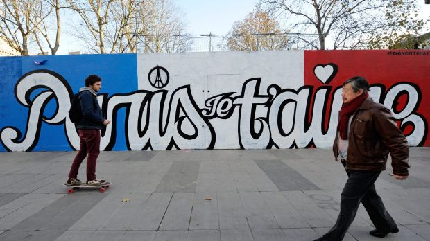 As Paris reeled from the worst attacks France has known since the end of World War II, its street artists took to city ...