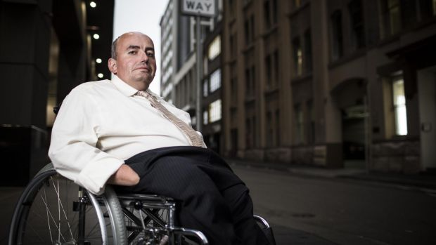 Craig Wallace left a 15-year career with the public service after being moved to a building with no disabled toilet. He ...