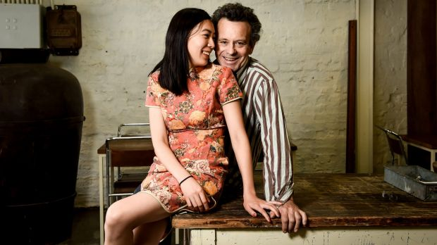 Lindsay Jones-Evans and wife Shengnan Ren say the way they feel about each other overrides any cultural differences.