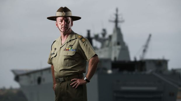 Major Stuart McCarthy is one of many current and former ADF personnel calling for a public inquiry into the drug mefloquine.