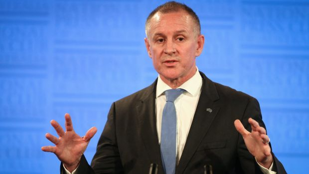 South Australian Premier Jay Weatherill addresses the National Press Club last year.