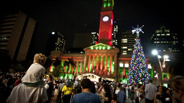 Garden Lights Qld : Christmas brisbane free events include enchanted