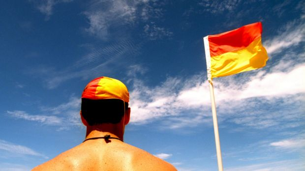 Lifesavers have reminded swimmers to swim between the flags.