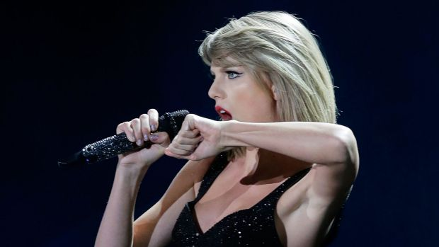Taylor Swift - excluded from Triple J Hot 100.