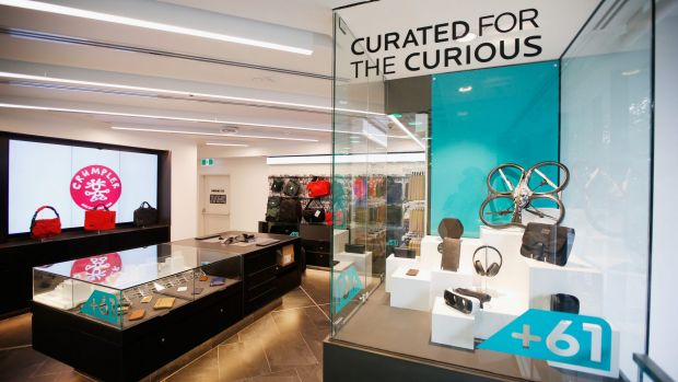MELBOURNE, AUSTRALIA - NOVEMBER 29:  An interior shot of the new Telstra Flagship store at the cnr of Swanston and ...