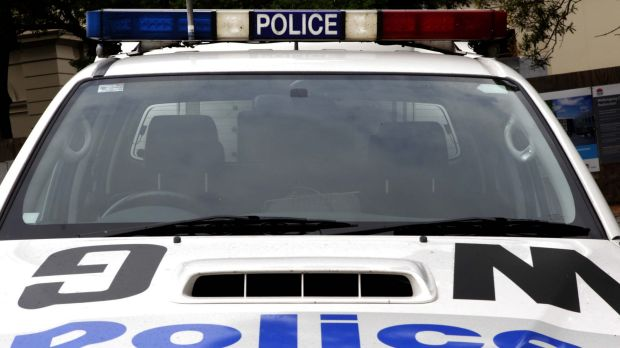 Police stopped a white Mazda ute in Young and arrested the driver, a 22-year-old man.