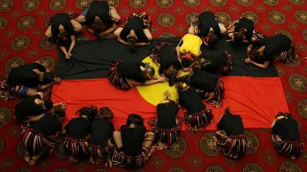 Walgett students perform a reconciliation dance.  The new languages course will ''help maintain a critical part of ...