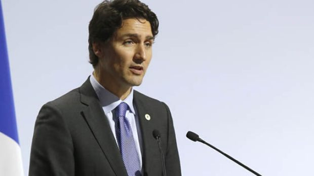 """Canadian Prime Minister Justin Trudeau has described the school shooting as """"every parent's worst nightmare""""."""