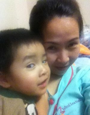 Brisbane-based Lisa Le, 32, faces deportation with, or without, her two-year-old son William.