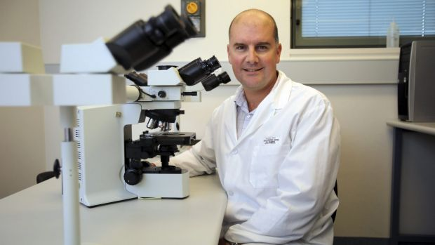 UNSW's Dr Darren Saunders, a visiting fellow at the Garvan Institute.
