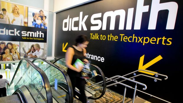 The depth of Dick Smith's woes became public when it abandoned its profit guidance.