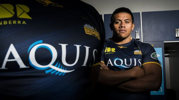 Allan Alaalatoa has signed a new three-year deal to stay with the Brumbies until 2019.