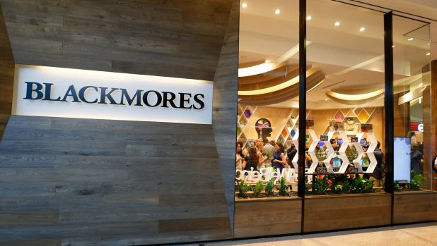 Blackmores shares sunk briefly below the $100 mark after the company confirmed a disappointing September quarter.