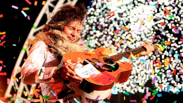 Wayne Coyne from the Flaming Lips.