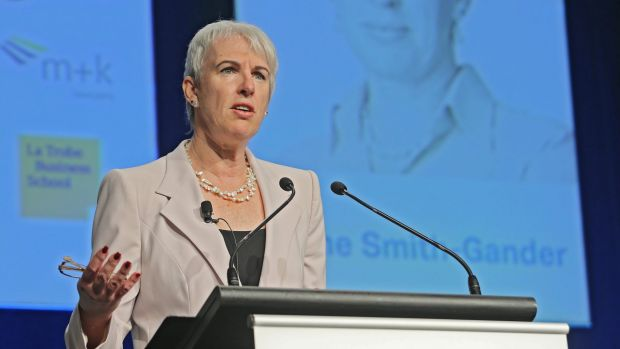 "Broadspectrum chairwoman Diane Smith-Gander told shareholders: ""Your Broadspectrum shares are worth a lot more than ..."