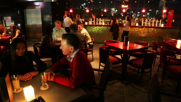 Venues such as the Kings Cross Hotel, pictured, have experienced a huge drop in patronage since the NSW government's ...