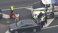 A highway road rage incident south of Brisbane leads to the death of a 50-year-old man
