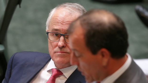 "Malcolm Turnbull told question time on Wednesday Mal Brough's ""guilt or innocence is not determined by public denunciation""."