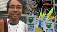 Yeb Sano, a former climate negotiator for the Philippines, has taken up civil action on global warming.