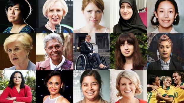 Some of the 20 finalists in the Daily Life ANZ Women of the Year awards.