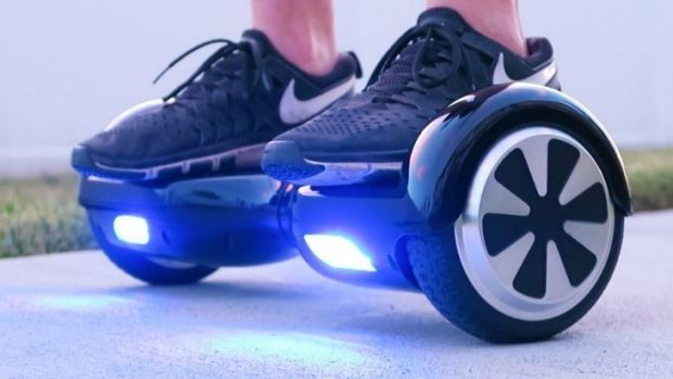 A 16-year-old was knocked out after falling off a 'hoverboard' he received for Christmas in Elenora Heights.