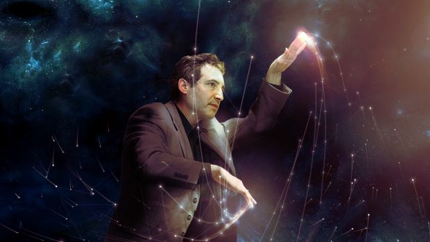Brian greene particle physicist and cosmologist to tour for The fabric of the cosmos series