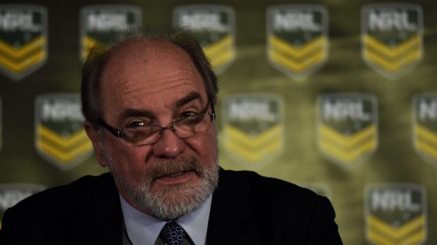 NRL chairman John Grant announced a $18.7 million loss for rugby league in 2015