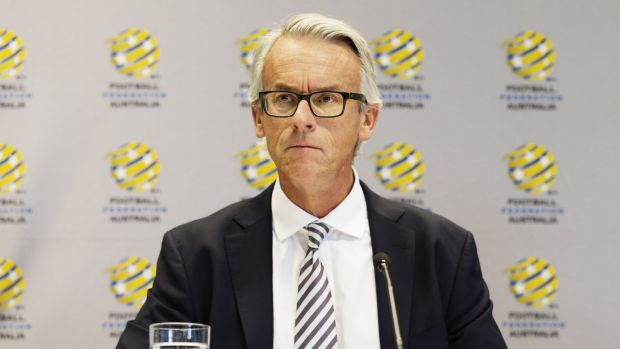 On the attack: Football Federation Australia CEO David Gallop.