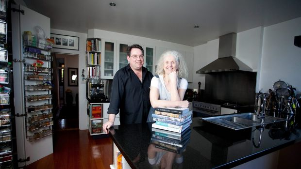 Tim White and Amanda Schulze, owners of Books For Cooks.