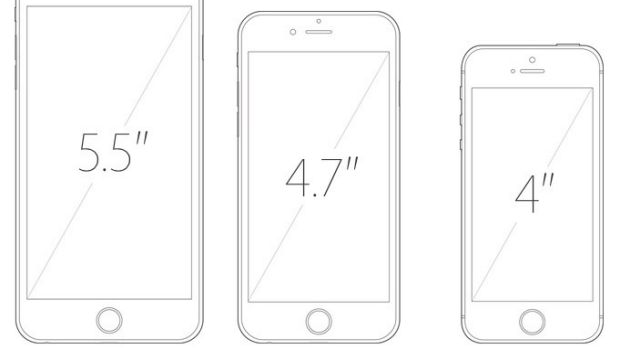 While the current iPhones are available in 5.5-inches and 4.7-inches, there's still a market for smaller devices.