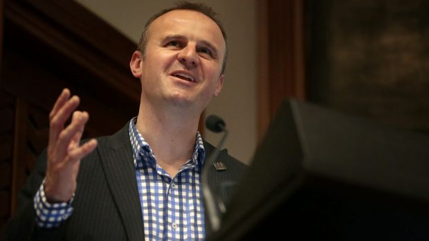 Expressions of interest: ACT Chief Minister Andrew Barr.