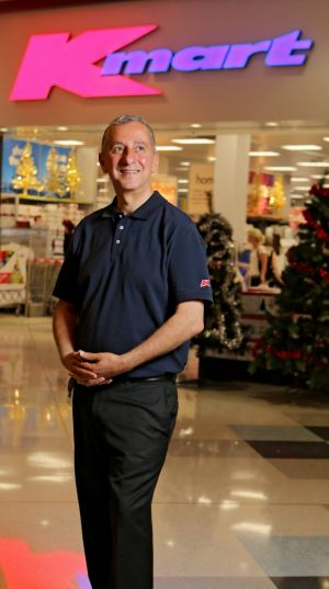 Kmart Managing Director Guy Russo plans to double the size of the Kmart business within seven years.
