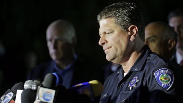 Lieutenant Mike Madden was one of the first officers on scene at the San Bernardino shooting.