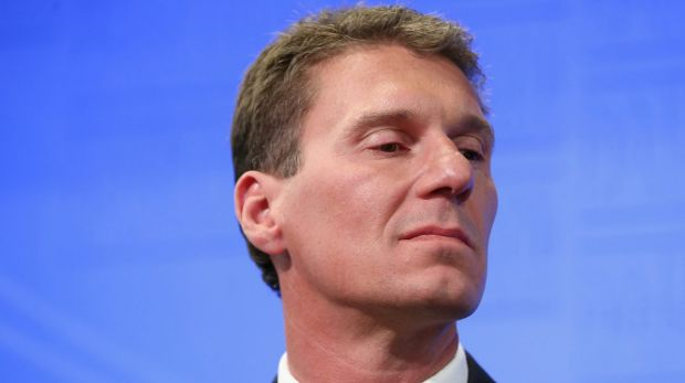 """Liberal senator Cory Bernardi considers the Greens to be a """"dangerous bunch of extremists""""."""