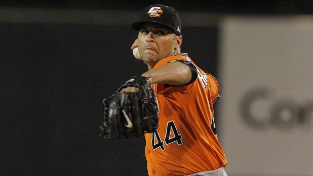 Canberra Cavalry starter Brian Grening became the first pitcher in ABL history to pitch three nine-innings shutouts.