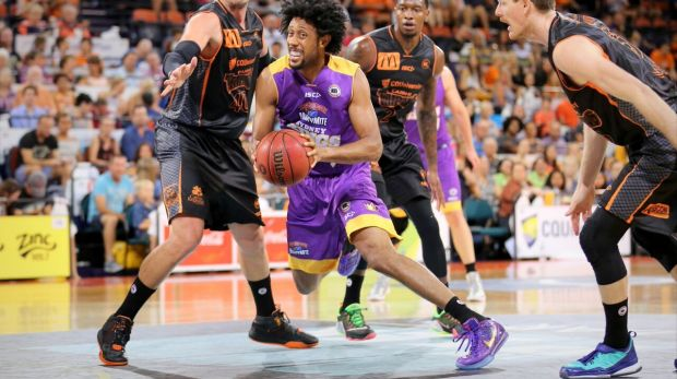 Injury blow: Kings star Josh Childress suffered another hand injury as Sydney lost to Cairns.