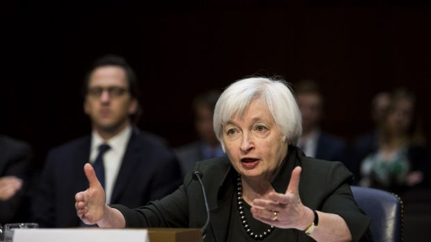 Questions to answer: Janet Yellen at a congressional hearing last year.