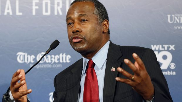 Republican presidential candidate Ben Carson has said Islam is antithetical to the US Constitution and he doesn't ...